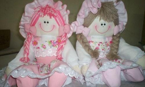 Modelos de bonecas de pano (Foto:Divulgação).