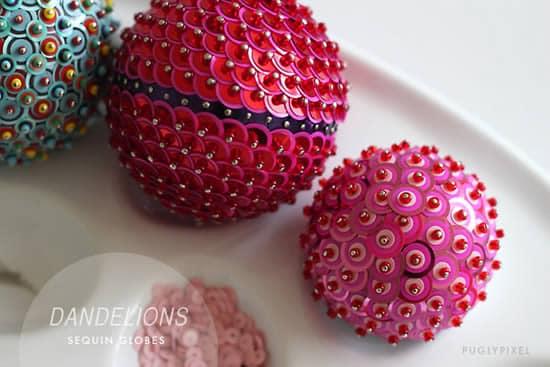 Como fazer bolas de natal de isopor - Bolas para decorar ...