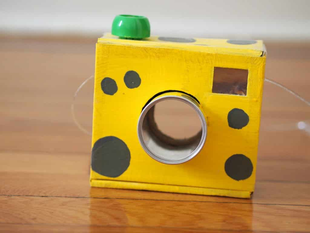 how to make camera at home easy