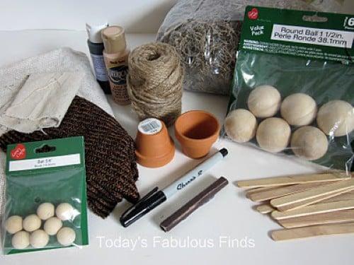 Artesanato Maceio File ~ Como fazer presépio de natal artesanal