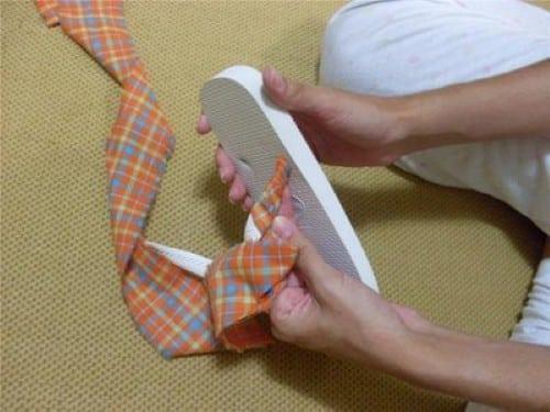 Top Como fazer artesanato em sandálias havaianas FB55