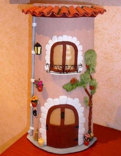 Como fazer artesanato na telha - Accesorios para decorar tejas ...