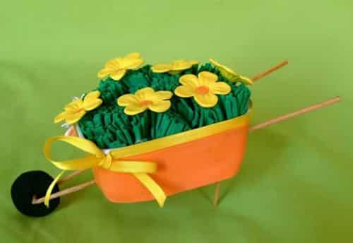 Armario Persiana Horizontal ~ Como fazer artesanato com pote de margarina