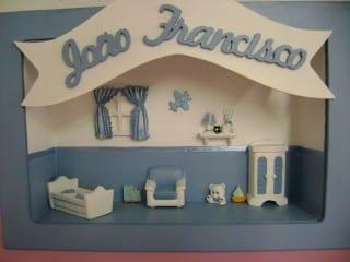 Decoração de quarto infantil mdf (Foto: Divulgação).