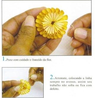 Como fazer flor de sianinha (Foto:Divulgação).