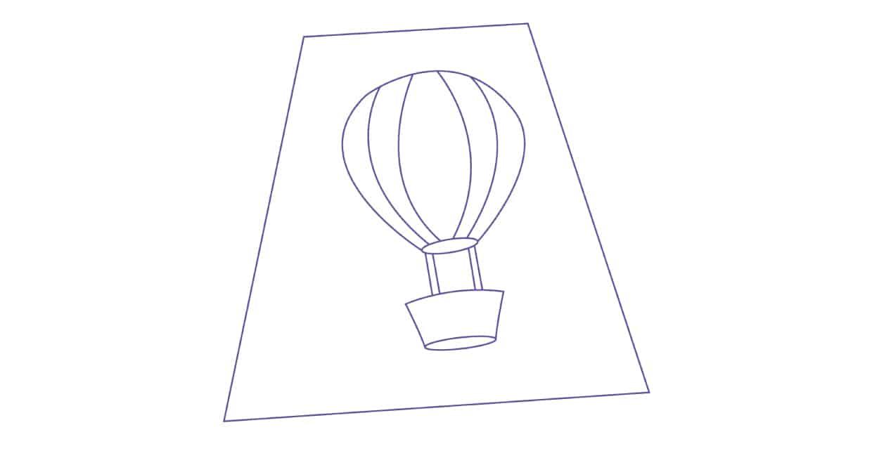 Molde Balão Artesanato Como Fazer Artesanatos