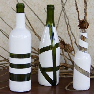 Passo a passo garrafas (Fotos: Divulgação).
