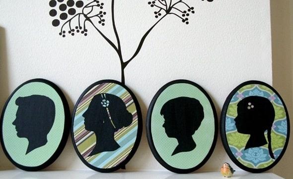 Como fazer um quadro para presentear um idoso (Foto:Divulgação).