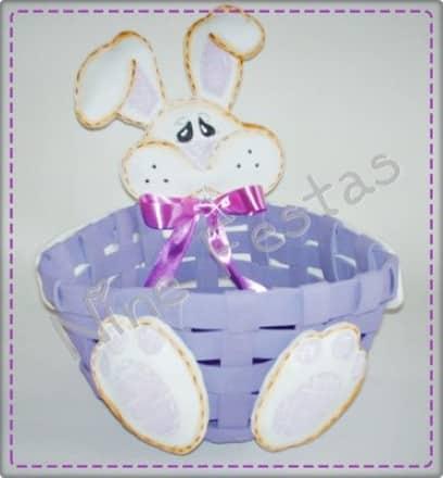 Foto de cesta de EVA (Foto:Divulgação).