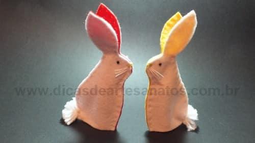 Como fazer fantoche de pascoa (Foto:Divulgação)