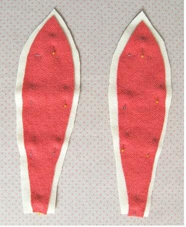 Passo a passo orelhas de coelho de tecido (Foto:Divulgação)