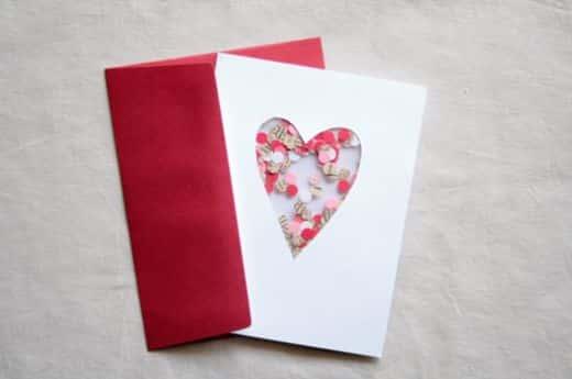 Este cartão para dia dos namorados é bem simpático e romântico e o alvo do seu amor ficará encantado com ele (Foto: Divulgação)