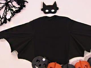Fazer uma fantasia de morcego é muito fácil e seus pequenos adorarão (Foto: Divulgação)