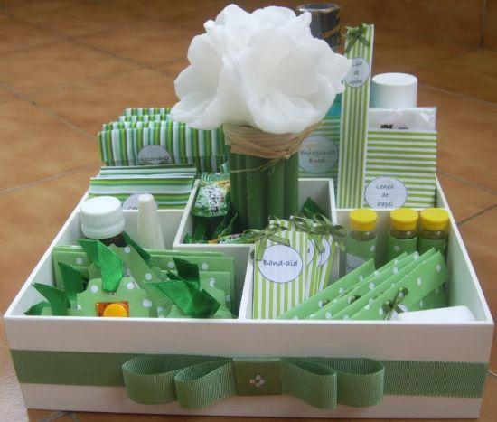 O kit banheiro para festa de casamento é essencial para quem quer mimar os convidados para que eles fiquem até o fim da festa (Foto: Divulgação)