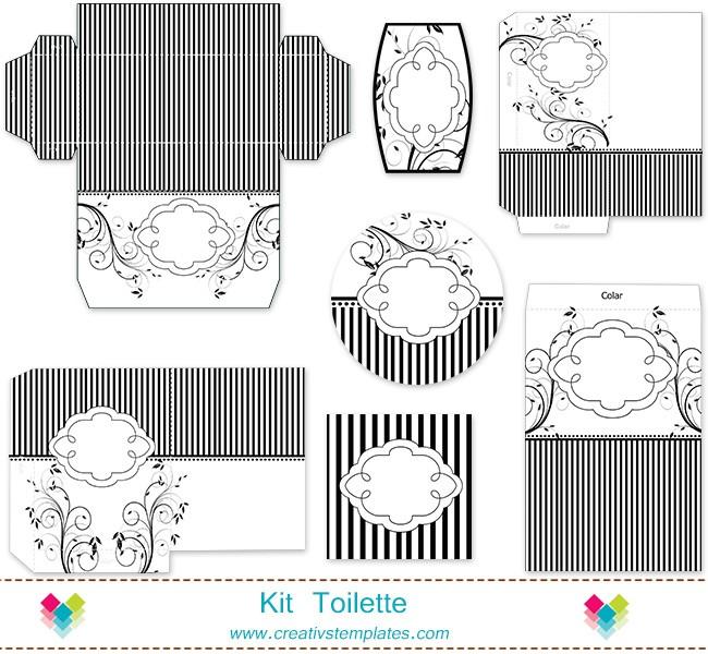 Kit Banheiro Casamento Moldes Dourado : Artesanato com amor kit banheiro para festa de casamento