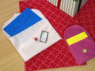 Este envelope de feltro deixará sua mensagem e presente muito mais diferenciados e interessantes (Foto: Divulgação)