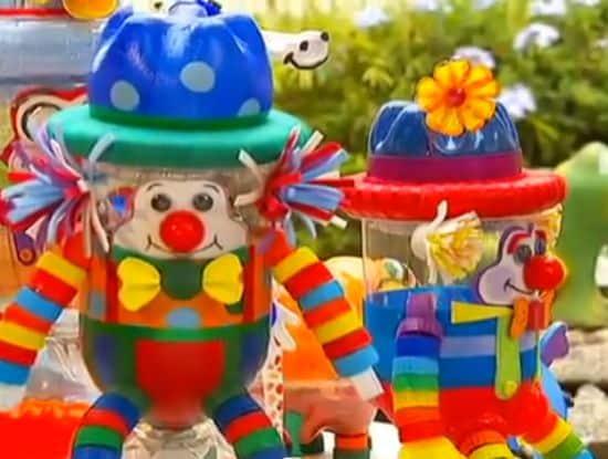 Estes brinquedos com garrafa pet irão fazer o maior sucesso com a criançada (Foto: Divulgação)
