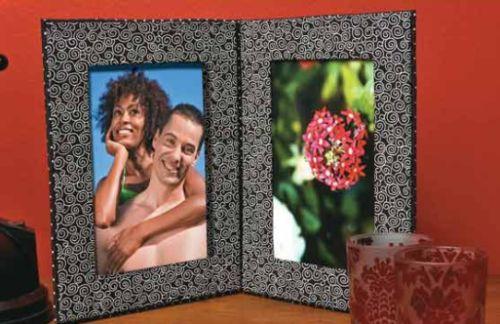 Este porta-retrato para dia dos pais deixará seu pai emocionado (Foto: Divulgação)