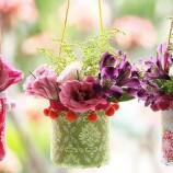 Como Fazer Vaso de Tecido e Garrafa Pet