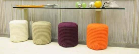 Como Fazer Um Puff De Crochê Como Fazer Artesanatos