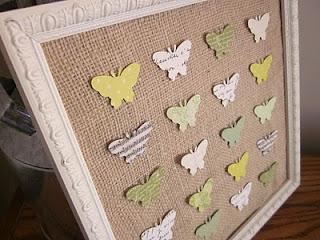 Este quadro com borboletas é ótima opção de objeto de decoração e pode ser também uma ótima opção de presente (Foto: Divulgação)