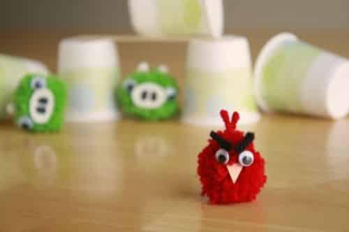 Estes fofos Angry Birds irão fazer a alegria de seus filhos e proporcionarem muita diversão (Foto: Divulgação)
