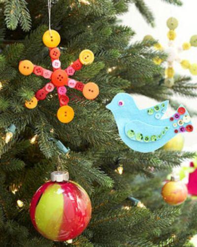 Sua árvore ficará muito mais interessante com este enfeite de Natal com palito (Foto: Divulgação)