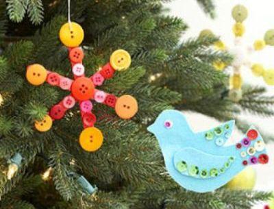 Como Fazer Enfeite de Natal com Palito