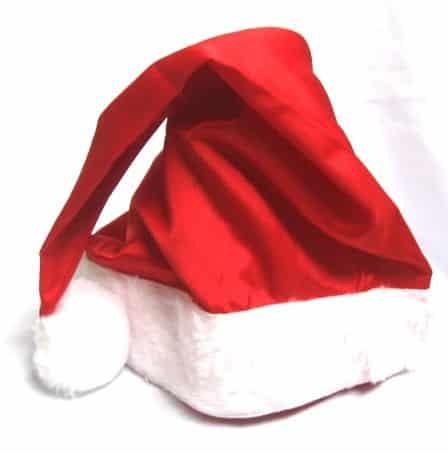 Este simpático gorro de papai Noel de TNT é muito fácil de ser feito (Foto: Divulgação)