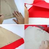 Como Fazer Gorro de Papai Noel de TNT  2