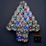 Como Fazer Árvore de Natal com CD Velho