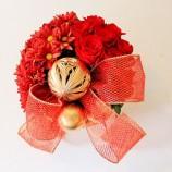 Como Fazer Artesanato de Natal com Flores