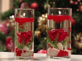 Este centro de mesa para o Natal também pode ser utilizado na decoração de outros setores de sua casa (Foto: Divulgação)
