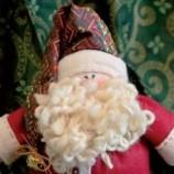 Como Fazer Papai Noel de Tecido