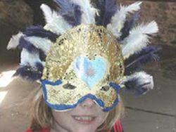 Fazer máscaras de carnaval é mais fácil do que você imagina (Foto: Divulgação)