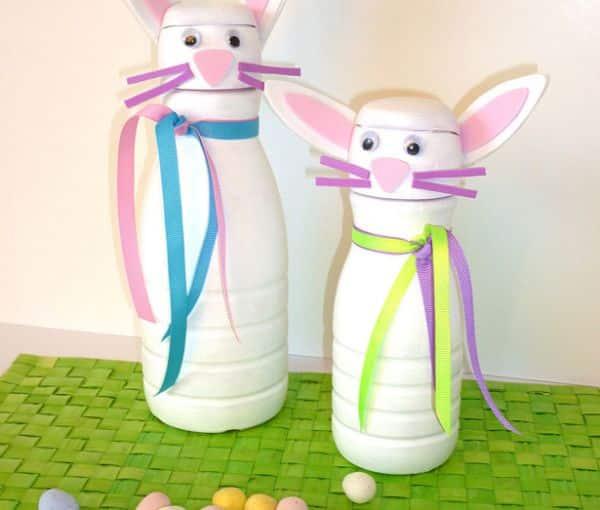 Este artesanato de Páscoa com material reciclável é barato e encantará as crianças (Foto: Divulgação)
