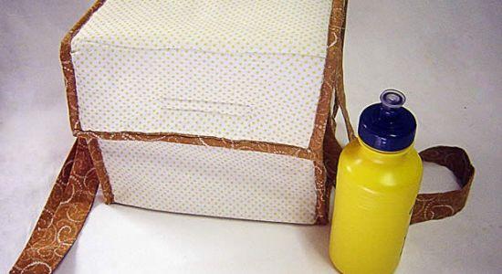 Esta lancheira térmica conservará com muito charme todos os alimentos de seu filho (Foto: Divulgação)