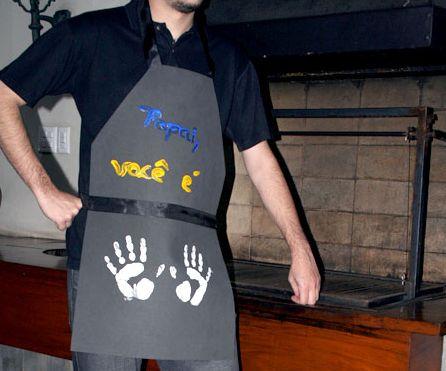 Faça este avental em EVA para dia dos pais e receba muitos elogios (Foto: Divulgação)