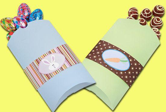 Estas embalagens para Páscoa são fáceis de serem feitas e incrementam qualquer presente (Foto: Divulgação)