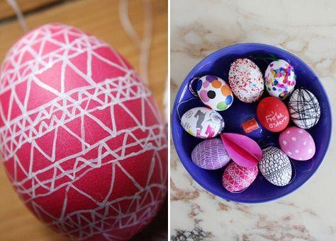 Pintar ovos de Páscoa deixará a decoração da sua casa muito mais interessante (Foto: Divulgação)