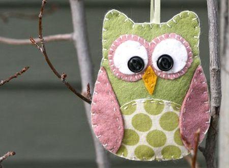 Estas corujinhas de tecido com molde são muito fáceis de serem feitas, lindas e encantarão a todos, adultos e crianças (Foto: Divulgação)