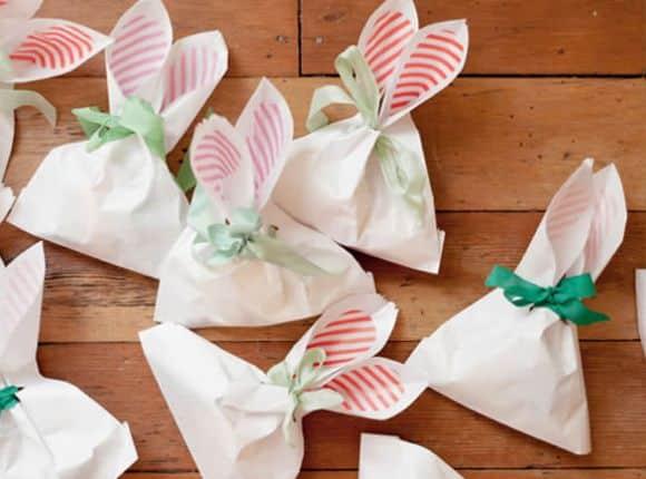 Este saco de coelhinho irá fazer o maior sucesso em seu almoço do domingo de Páscoa (Foto: Divulgação)