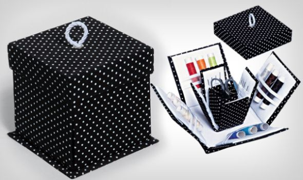Esta caixinha para dia das mães irá fazer o maior sucesso entre os que adoram costurar (Foto: Divulgação)
