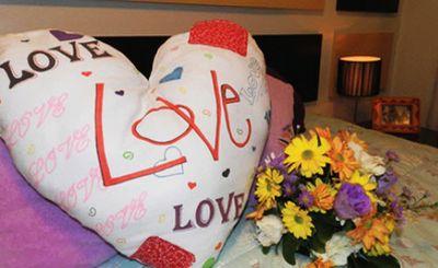 Esta almofada para dia dos namorados encantará o seu amor (Foto: Divulgação)