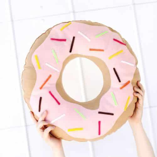 Como Fazer Almofada Formato de Donut