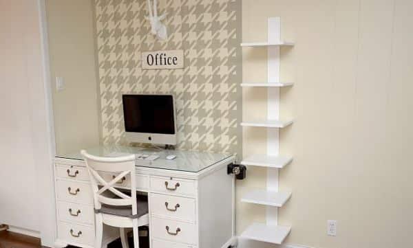 Esta estante flutuante deixará o seu ambiente com visual bem mais diferenciado (Foto: casadefifia.blogspot.com.br)