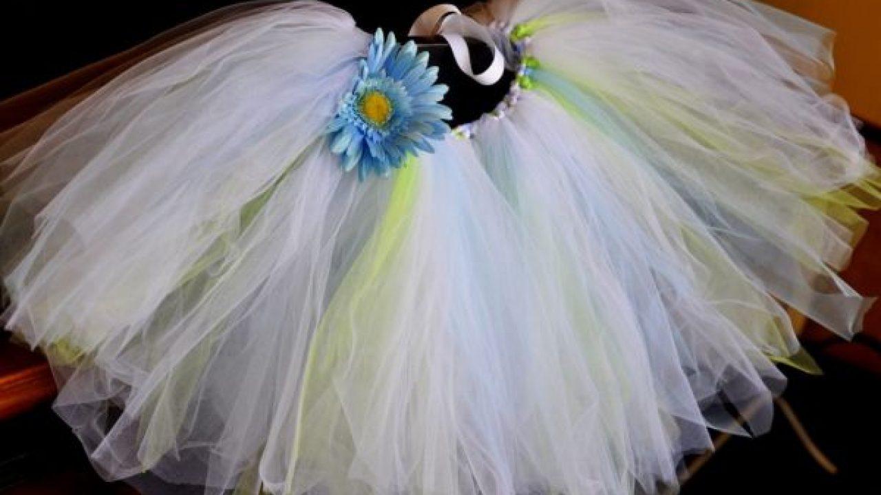 08bf483f9732 Como Fazer um Tutu de Bailarina