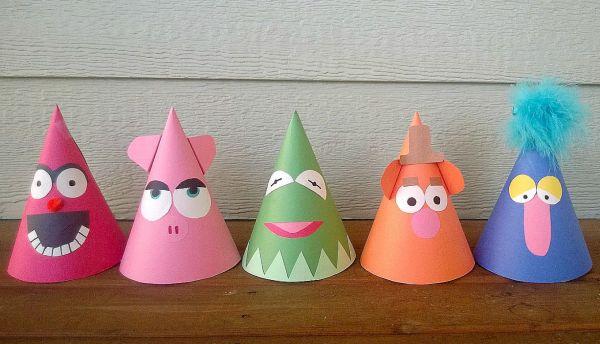 Este chapéu de festa divertido vai alegrar muito mais a festinha de aniversário de sua criança (Foto: littlebirdiesecrets.blogspot.com.br)