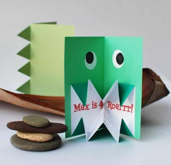 Com este convite pop-up seus convidados ficarão encantados já antes da festa (Foto: crafts.tutsplus.com)