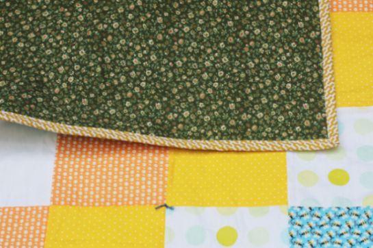 Este baby quilt é lindo, mas muito fácil de ser feito (Foto: minhasinger.com.br)